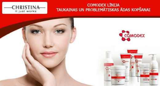 """Comodex"" line for problematic and oily skin"