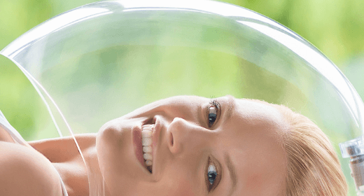 Dermio Top Head – oxygen negative ion therapy for the face