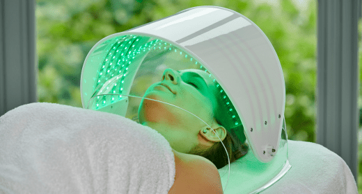 Dermio Top Head - oxygen ion therapy + light therapy